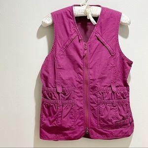 DULUTH TRADING Women's Travel Vest Multi Interior & Exterior Pockets